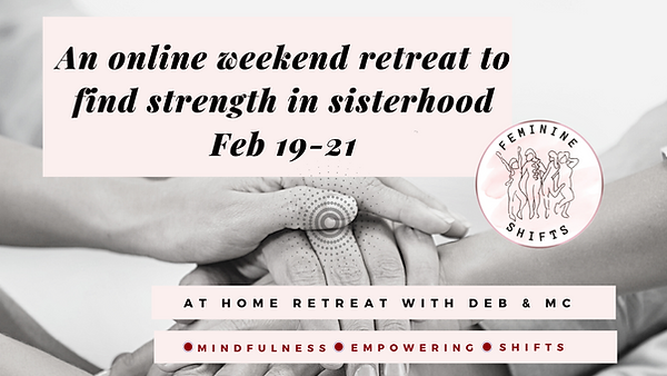 Website Feminine shifts Weekend Retreat