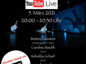 ANIMIST - Tanz Livestream am 5. März 2021 - live aus dem Theater am Gleis