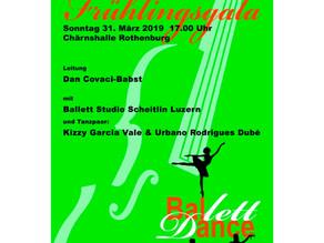Tänzerinnen der Ballettschule Scheitlin Luzern mit dem Sinfonieorchester Rothenburg
