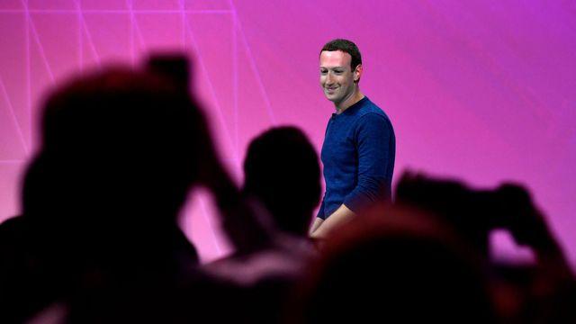 Zuckerberg à VivaTech 2018