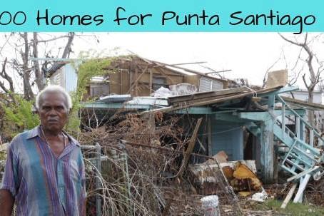 P.E.C.E.S. busca reconstruir 100 hogares en Punta Santiago