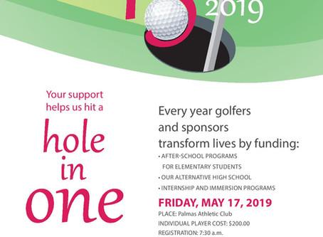 Save the date Torneo de Golf