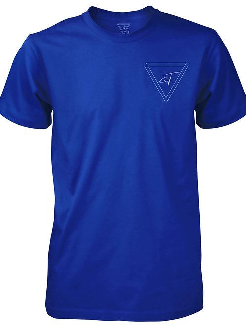 Signature Blue T-Shirt (Blue Logo)