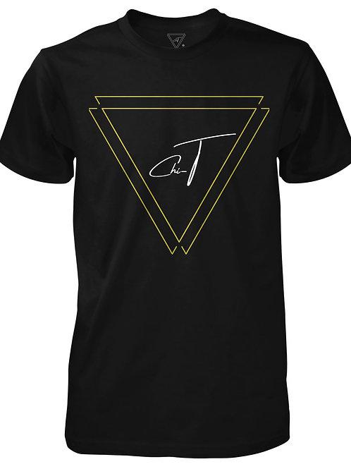 Signature Black T-shirt (Gold Logo Front)