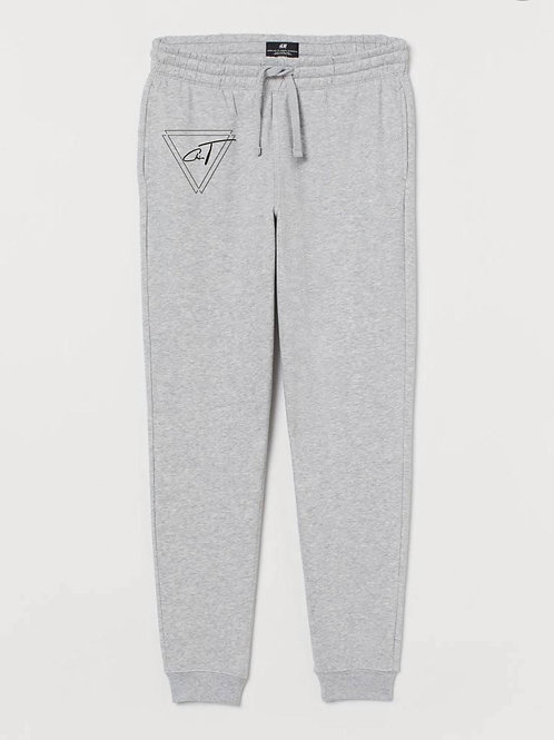 Limited Edition Signature Grey Bottom Joggers