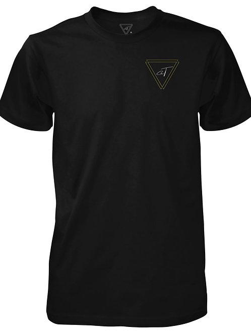 Signature Black T-Shirt (Gold Logo)