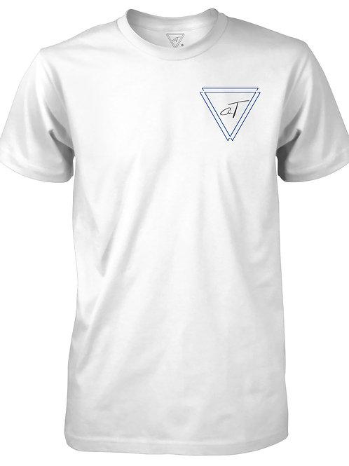 Signature White T-shirt (Royal Blue Logo)