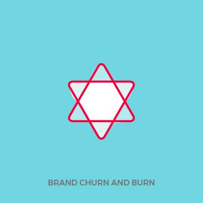 Churn and Burn