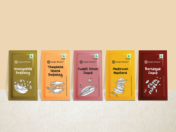 Global sauces in trial sachets