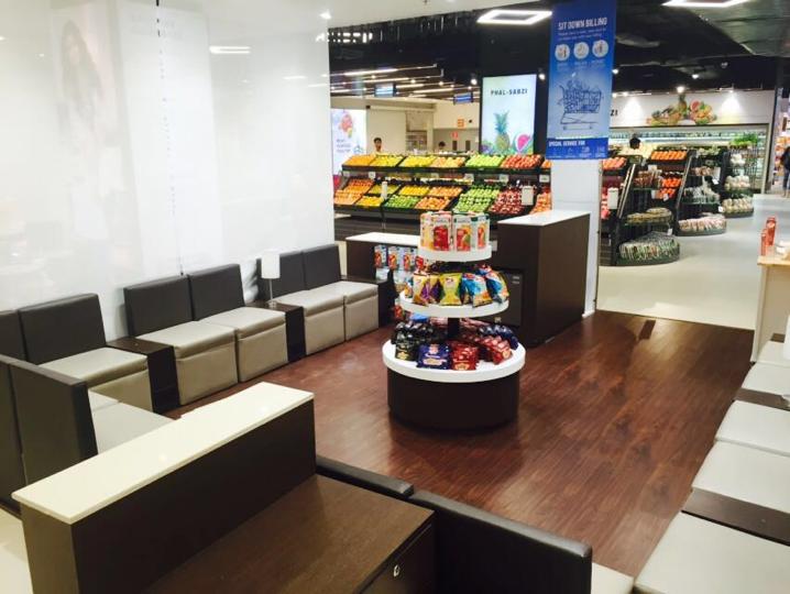 Consumer seating area