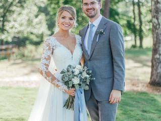 Chad + Courtney's Wedding Day!