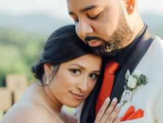 Alejandra + Dustin Wedding Day