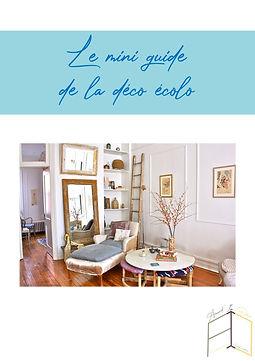 Mini Guide de la déco écolo par Amandine Vonarx, décoratrice d'intérieur en Alsace près de Colmar Amand'in Déco