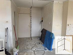Rénovation d'un appartement à Colmar par Amandine Vonarx Amand'in Déco décoratrice d'intérieur UFDI