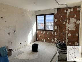 Rénovation d'un studio à Colmar par Amandine Vonarx - Amand'in Déco.