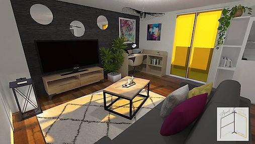 Profiter de la belle lumière de la pièce à travers les stores colorés. Amand'in Déco vous aide à créer une ambiance unique dans votre intérieur.