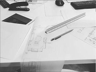 Amand'in Déco vous propose des prestations complètes, incluant des croquis ainsi que des plans d'implantation pour valider l'agencement futur de votre intérieur.