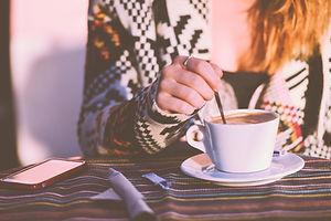Rühren Kaffee