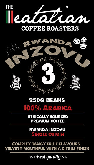 The eatalian Rwanda Inzovu Coffee Beans