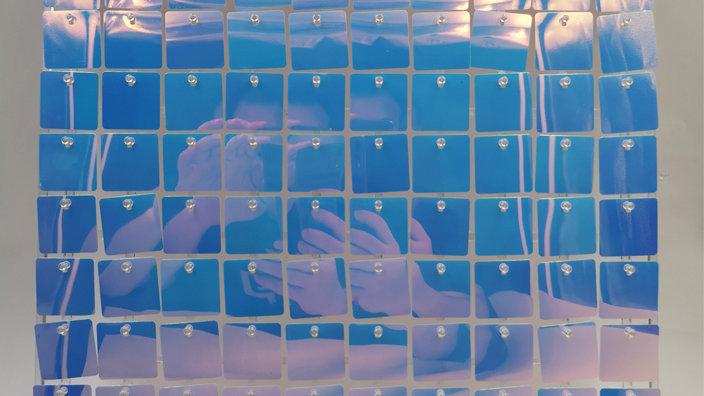 Dream Colour 1 - Square Sequin - Clear Click Panel