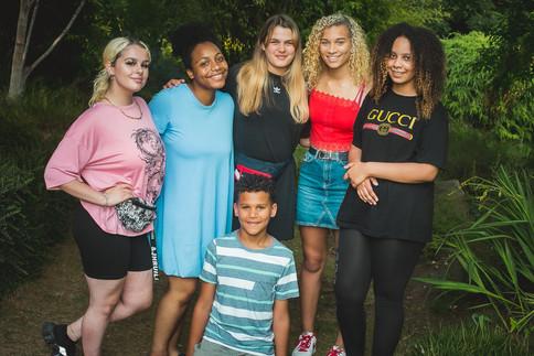 17th Birthday Park Picnic Group Photo