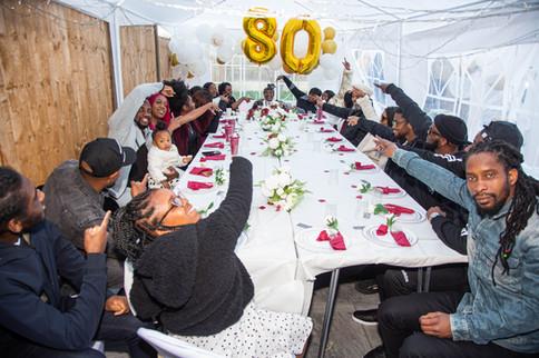 80th Birthday Group Photo