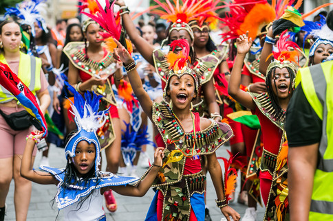 Children at Carnival