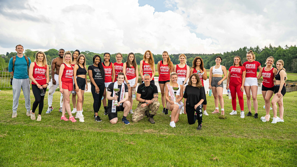 Miss England Sports Group Shot