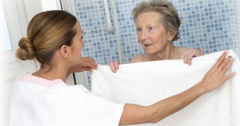 Bañar a un Anciano