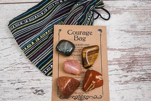 Courage Crystal Bag
