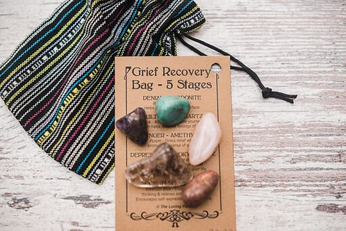 Grief Recovery Crystal Bag