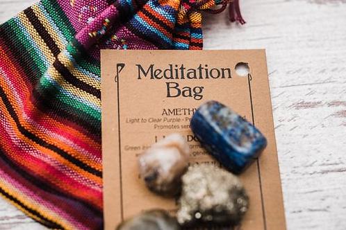 Meditation Crystal Bag