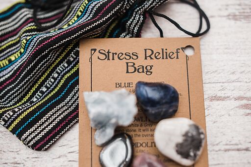 Stress Relief Crystal Bag