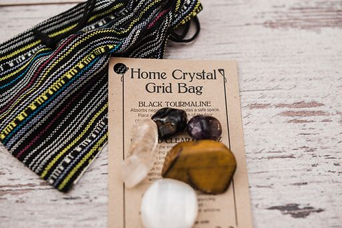 Releasing A Home Crystal Bag