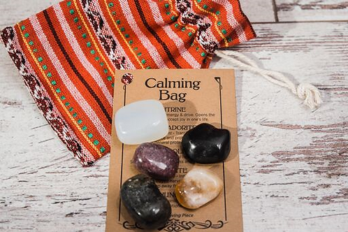 Calming Crystal Bag