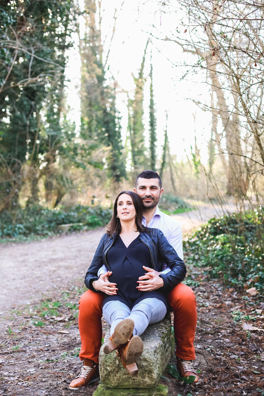 Photo couple maternité