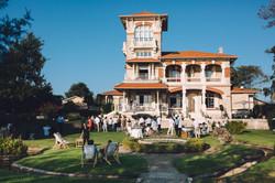 photo mariage cocktail Villa Tosca