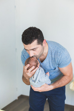 photo papa bébé