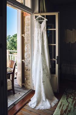 Photo robe mariée Villa Tosca