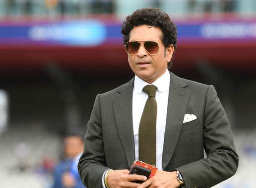Sachin Tendulkar to donate half of his runs to lesser batsmen and charity