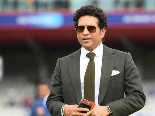 Sachin Tendulkar to donate half of his runs to lesser batsmen and charity