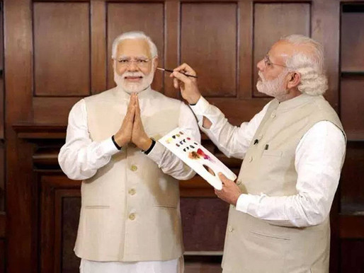 "Modi proposes to himself on Valentine's Day, gets rejected for being too ""atmanirbhar"""