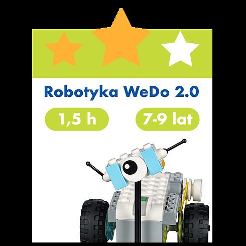 Robotyka WeDo 2.0 - Neptuna 16 - Poniedziałki 17:45