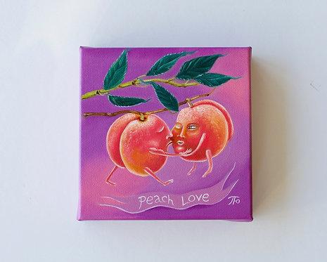 Peach Love   Garden Shenanigans series