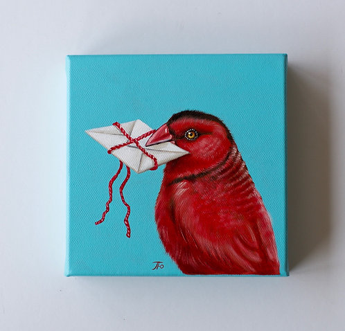 In Red   Love Letters series