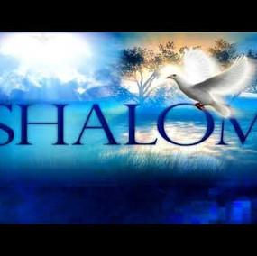 Shalom Paz Peace