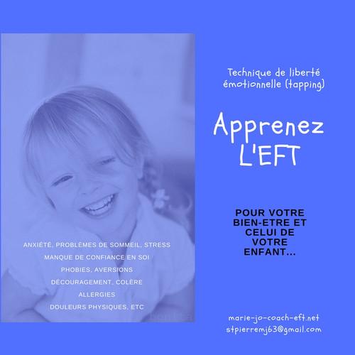 Apprenez L'EFT pour vous et votre enfant