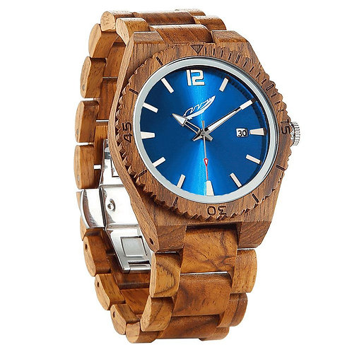Men's Personalized Engrave Ambila Wood Watches - Custom Engraving
