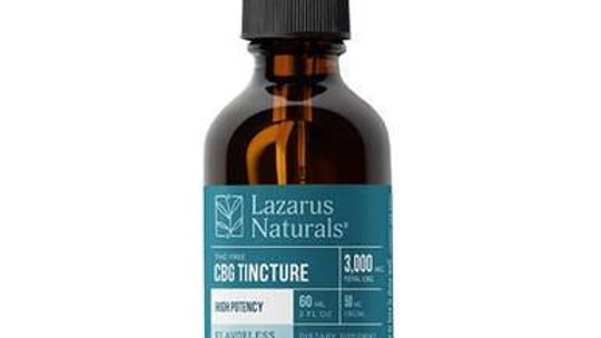 Lazarus Naturals - Tincture - Flavorless High Potency CBG Isolate 750mg-3000mg