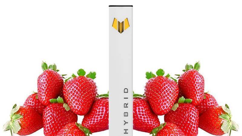 Hybrid CBD - CBD Disposable Vape Pen - Strawberry Relief - 250mg